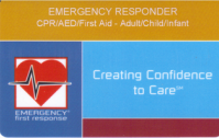 Emergency first Responder (CPR/FIRST AID)
